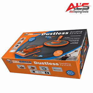 fullcircle air complete radius 360 dust free drywall sanding system new 187691000677 ebay. Black Bedroom Furniture Sets. Home Design Ideas