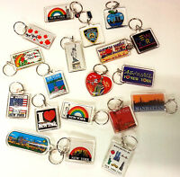 Wholesale Lot Of Brand Ny Keychains, Any 12 For $5.99, Minimum Order 1 Dozen