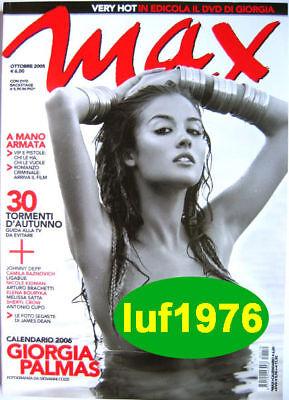 Palmas Giorgia Calendario.Max 05 Giorgia Palmas Johnny Depp Melissa Satta James Dean Elena Bouryka A Cupo Ebay