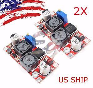 2-PCS-XL6009-DC-DC-ADJUSTABLE-STEP-UP-POWER-CONVERTER-MODULE-REPLACES-LM2577