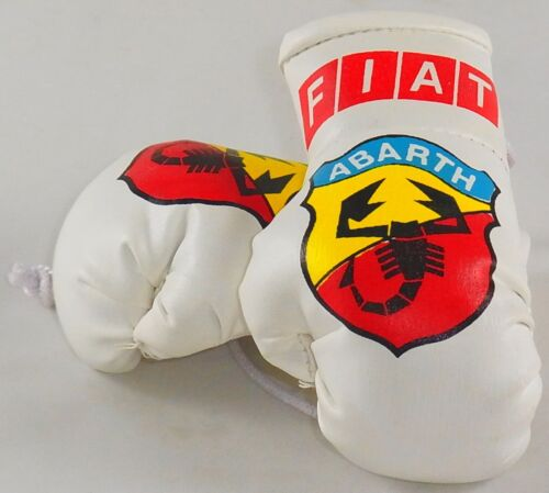 ideal for your rear view mirror Fiat Abarth  Mini Boxing Gloves