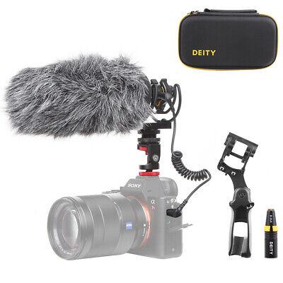 Deity V-Mic D3 Super-Cardioidl Shotgun Microphone Rycote Shockmount Wind Shield
