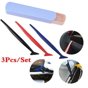 Pro Car Vinyl Wrapping Tools Squeegee Micro Tuck Tool Kit Gasket Wrap Applicator