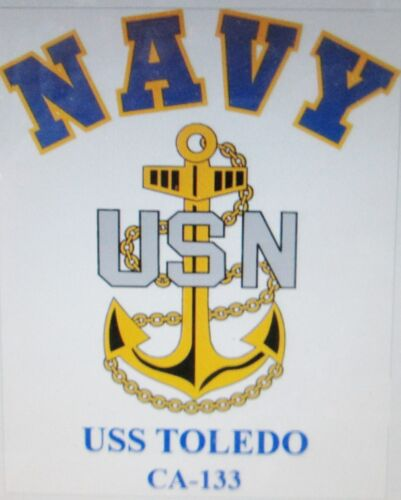 USS ROCHESTER CA-124* CRUISER U.S NAVY W// ANCHOR* SHIRT
