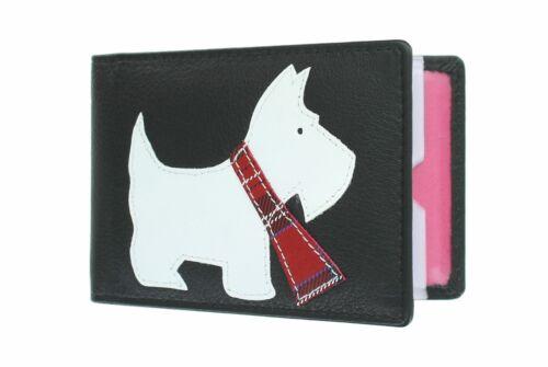 Mala Leather migliori amici COLLECTION in pelle porta carte di credito 638 /_ 65