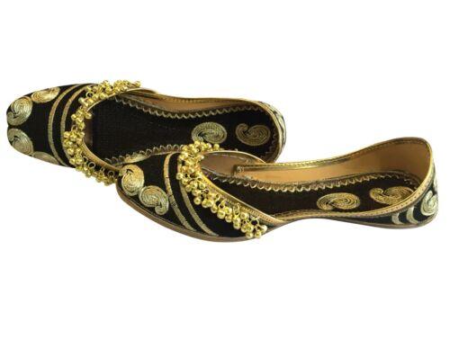 US 6 US10 Traditional Mojari Punjabi Women Jutti Shoes Handmade Khussa DD423