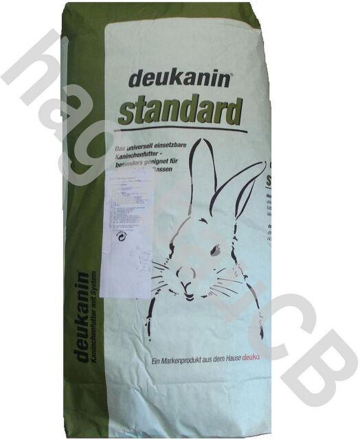 deukanin standard 25kg Kaninchen Futter Hasenfutter Kaninchenpellets