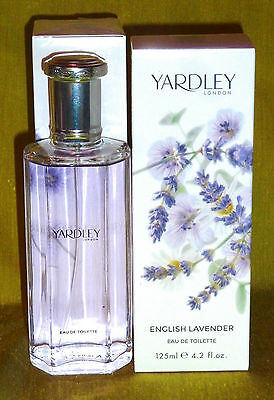 10,36€/100ml Yardley Lavendel Eau de Toilette 125ml | moderner floraler Duft