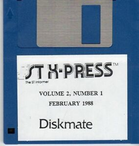 ITHistory-1988-02-Software-034-Diskmate-034-Vol-2-No-1-Atari-ST-X-Press