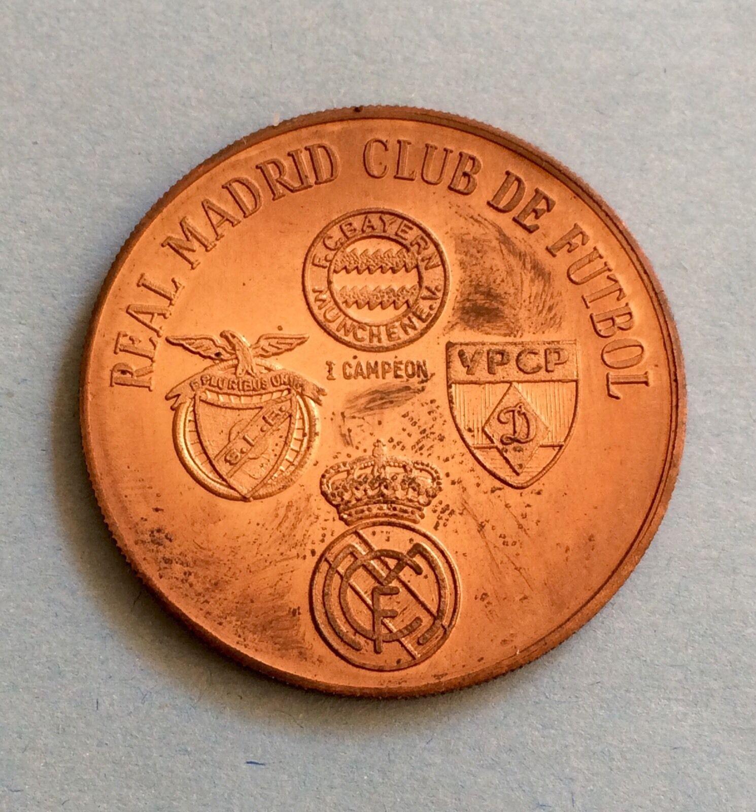 MEDALLA II Trofeo Santiago Bernabéu (1980) (1980) (1980) R Madrid-Bayern-Benfica-Dinamo Kiev b59149