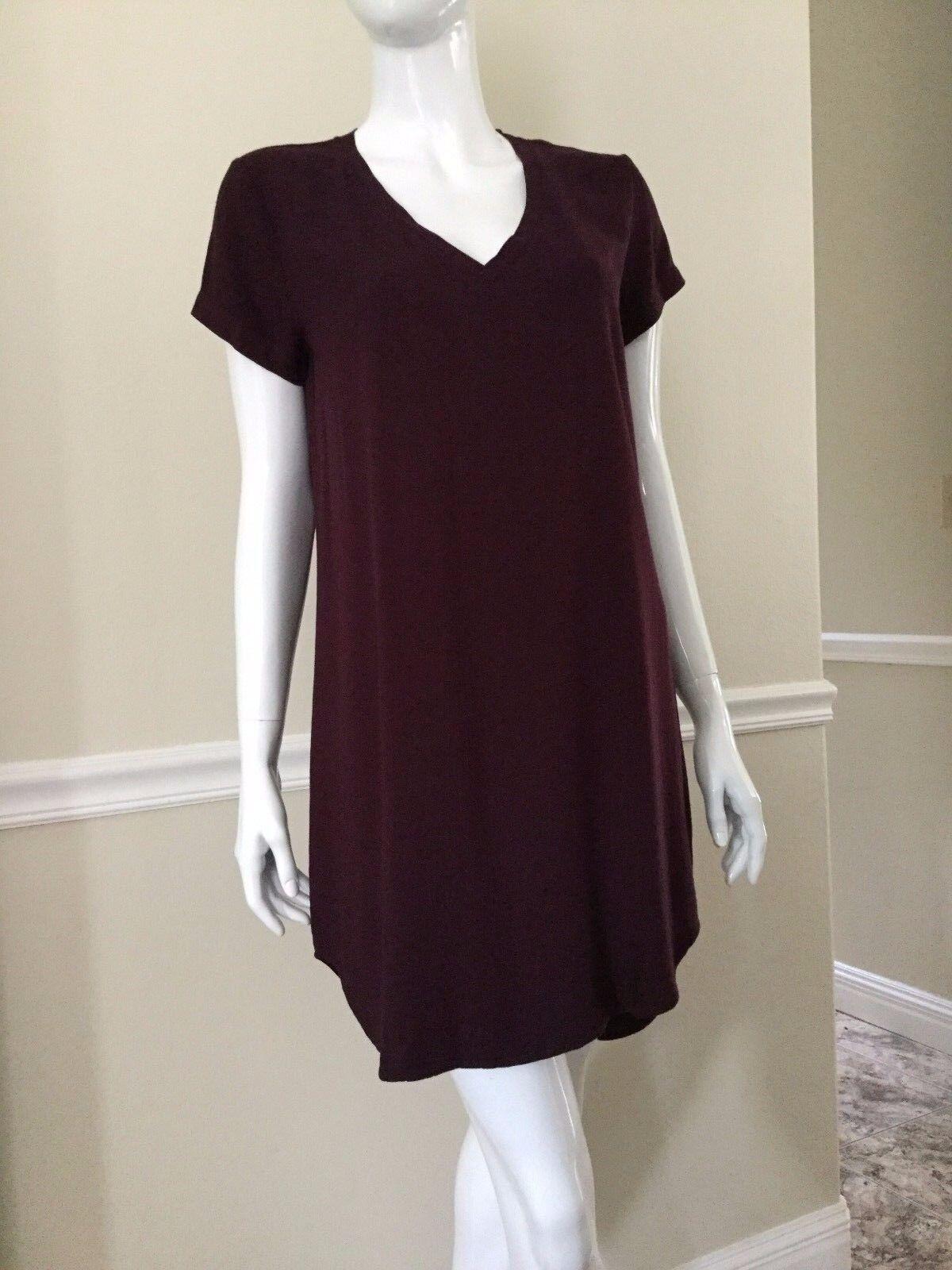 Neu Stoff & Stein Szxs V-Ausschnitt Kurzärmlig Fokuhila Saum Saum Saum Kleid | Sale Online  | Billiger als der Preis  | eine breite Palette von Produkten  9e850e