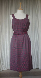 Phase-Eight-034-Dolly-Spot-034-Dress-Size-UK-12-Slate-Grey-Spots-With-Tags-NEW
