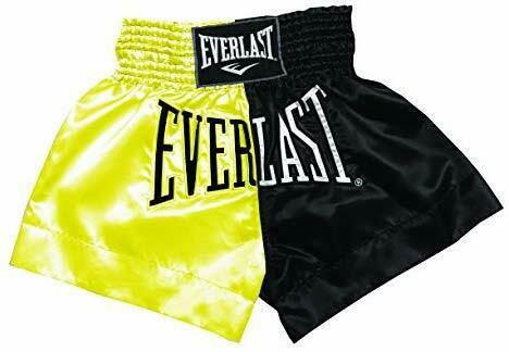 M Gold Everlast Boxartikel E7 Thai Boxing Shorts Trousers