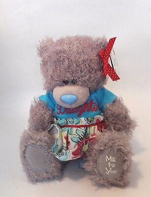 "Gift Christmas Me To You Tatty Teddy Amazing Daughter Dress Bear 7/"" Plush Teddy"