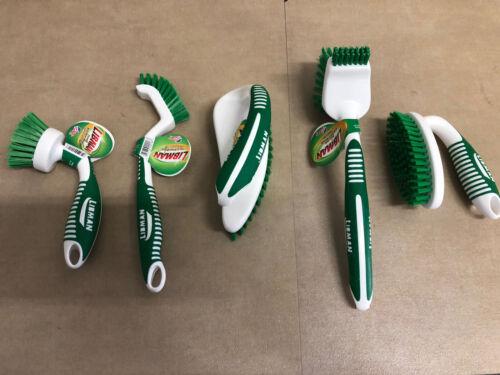 5 Total Brushes Free Shipping Libman Kitchen Brush Bundle