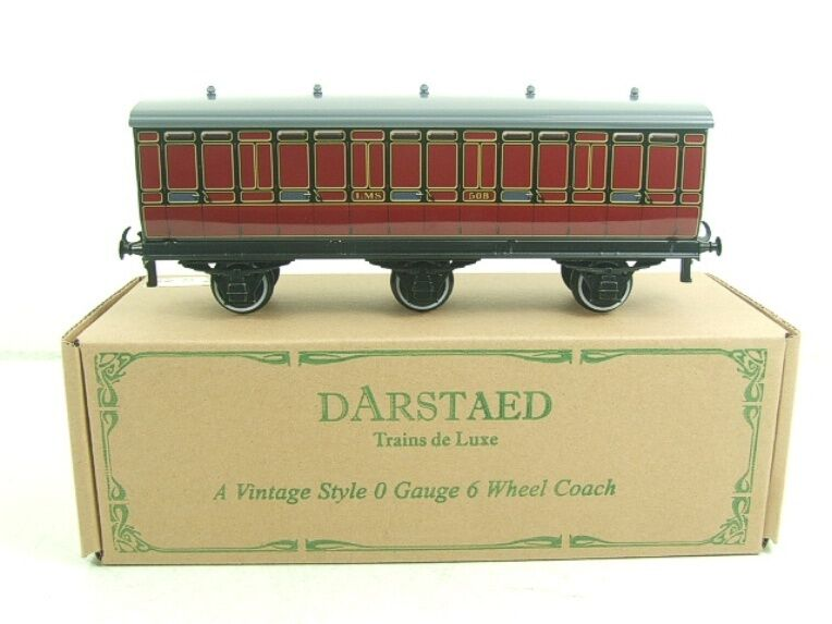 Darstaed O Gauge LMS 1 Six Wheel Parcels Van Wagon R N 508 Brand New Boxed TSM