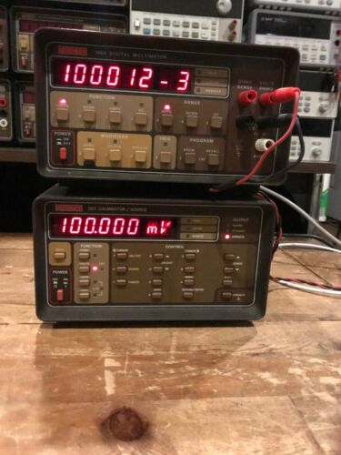 Keithley 195A Digital Multimeter Option 1950 Used Tested Ships Free