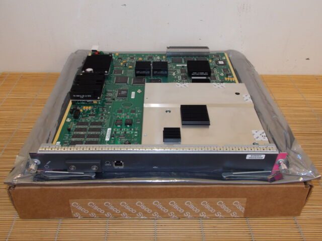 NEU Cisco WS-X6066-SLB-S-K9 CCS Module + SSL Daughter Card NEW OPEN BOX