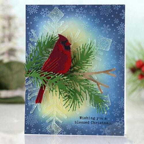 DIY Metal Cutting Dies Bird Shape Stencil Scrapbooking Album Paper Card Craft