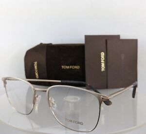 a164e68a2e Brand New Authentic Tom Ford Eyeglasses FT TF 5453 029 54mm Gold ...