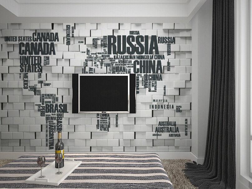 3D Kreative Weltkarte 85 Tapete Tapete Tapete Wandgemälde Tapete Tapeten Bild Familie DE    Zahlreiche In Vielfalt    Bestellung willkommen    Eleganter Stil  423602