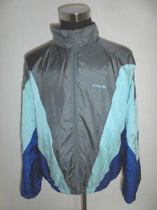 vintage-80-s-ADIDAS-Nylon-Jacke-Sportjacke-jacket-glanz-shiny-oldschool-D7-M-L