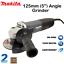MAKITA-Angle-Grinder-125mm-5-034-240V-Corded-Electric-Grinding-Power-Tool-Grinding thumbnail 1