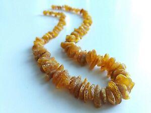 Raw ,22 Grams !!!! Baltic Amber,necklace 50 Zent unbeÄttet