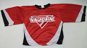 New Vaughn ice hockey goalie jersey junior XL jr boys red extra 7360 ... a17f926e992