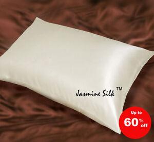 Jasmine-silk-Reine-Seide-Kissenbezug-Elfenbein