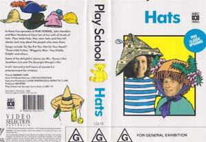 ABC-HATS-A-RARE-FIND-VHS-PAL-VIDEO