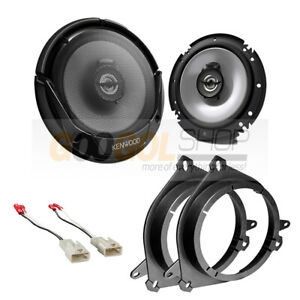 """6.5/"""" Front Door speaker adapters and harness for select Toyota Vehicles"""