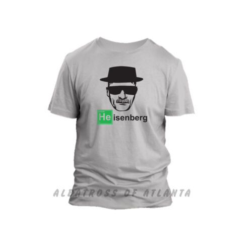 HEISENBERG BREAKING BAD LOS POLLOS HERMANOS WALTER WHITE T-SHIRT TOP TEE