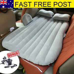 Inflatable-Car-Back-Seat-Mattress-Protable-Travel-Camping-Air-Bed-Rest-Sleeping