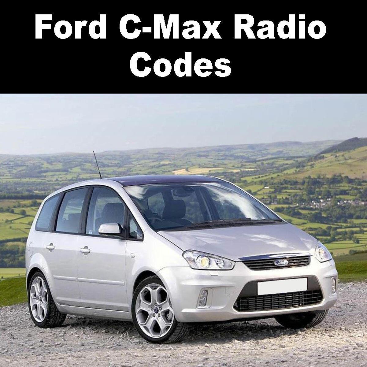 Ford Galaxy Radio Code Stereo Codes Pin Car Unlock Fast Service 6000cd