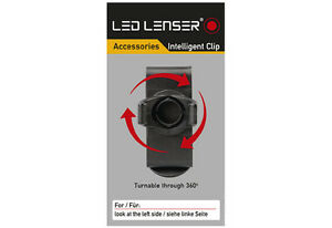 DEL Lenser Intelligent Clip Pour p14 p14.2 m14 x14 lampes de poche Support 0318  </span>