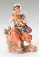 Fontanini Josiah, The Bagpiper, 5 Scale Nativity Figurine, By Roman 72691