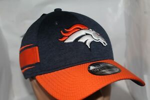 3ba22e1b4 Image is loading Denver-Broncos-New-Era-2018-Official-Sideline-Home-