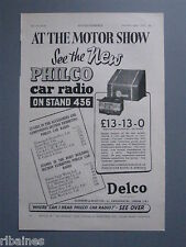R&L Ex-Mag Advert: Philco Car Radio 1938,