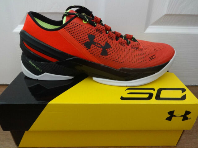 Under armour UA CURRY 2 LOW mens trainers sneakers shoes 1264001 984 NEW+BOX 8a04de0add4b