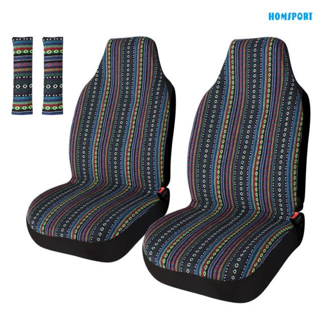2pcs Baja Front Car Seat Covers Back, Baja Car Seat Covers