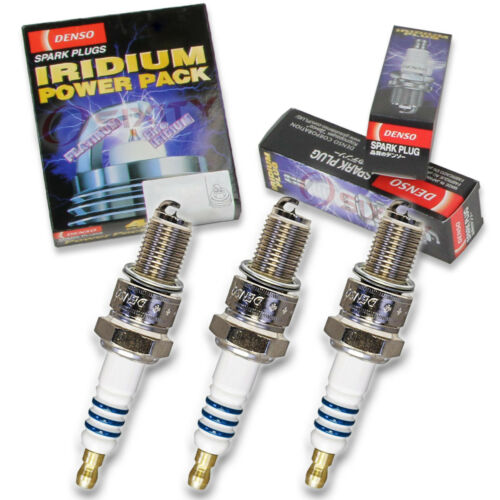 3 pc Denso Iridium Power Spark Plug for Suzuki GT380 1974-1977 Tune Up Kit ip