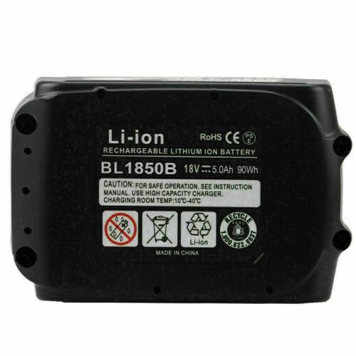 18 Volt Für Makita Original akku BL1860B 18V 5AH Li-Ion LXT BL1850 BL1840 BL1830