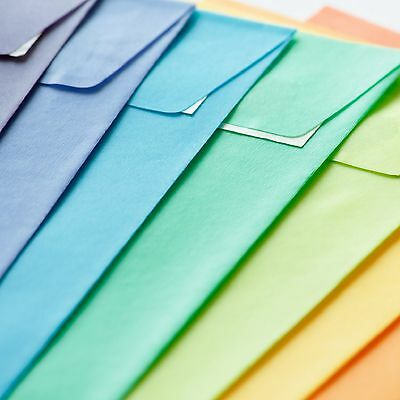 "6.37 x 9.01/"" 10 pack x C5 Caribbean Blue Luxury 120gsm Envelopes 162 x 229mm"