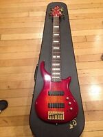Pedulla Thunderbolt Bass ET 6-String Electric Bass Guitar 1995