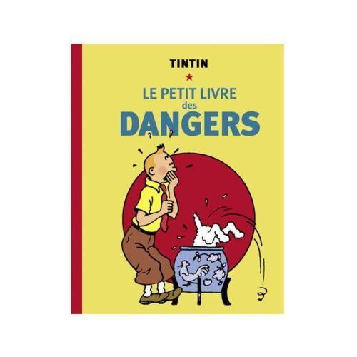 "/""Le petit livre des Dangers/"" HC neu Tim und Struppi Mini Buch Tintin"