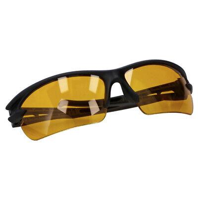 Instancabile Occhiale Da Sole Sportivo Penn Unisex Nero Con Lenti Gialle