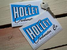 Holley Carburetor Car stickers Hot Rod Custom old skool