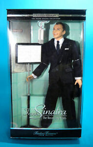 50d1d8b47a1d9 NRFB Celebrity doll Frank Sinatra The Recording Years Mattel Barbie ...