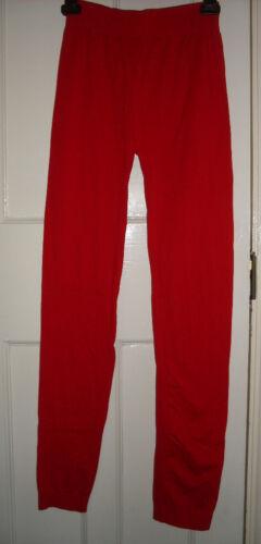 WOMENS Stretchy Polyester//Spandex Petite Leggings One Sizes BNIB 8-12 Approx